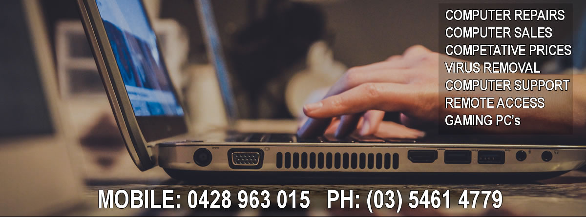 Maryborough PC's : Computer Repairs in Maryborough VIC